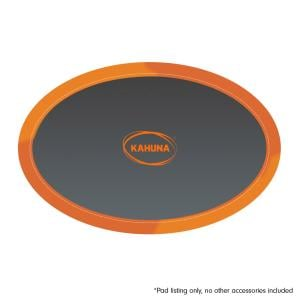 Kahuna 8 ft x 14 ft Replacement Oval Trampoline Pad Spring Safety Cover