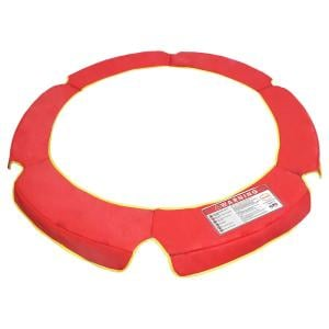 4.5ft Trampoline Replacement Safety Spring Pad Round Cover Red