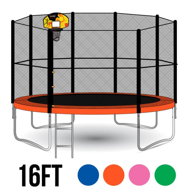 Kahuna Blizzard 16ft Trampoline