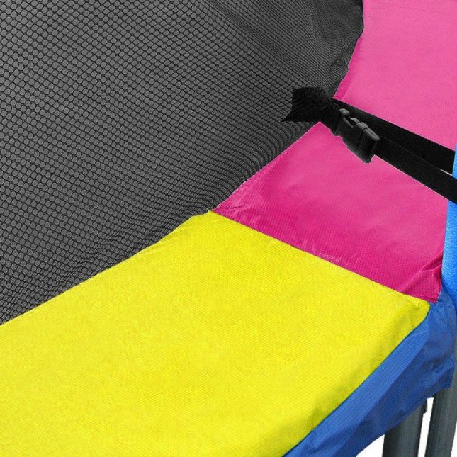 Kahuna Rainbow Replacement Trampoline Pad / Spring Cover