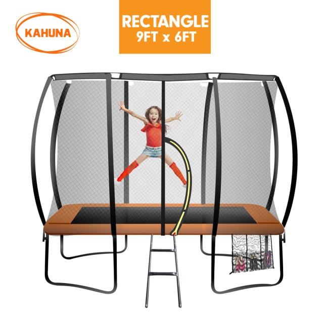 Kahuna Outdoor Rectangular Trampoline 6 ft x 9 ft