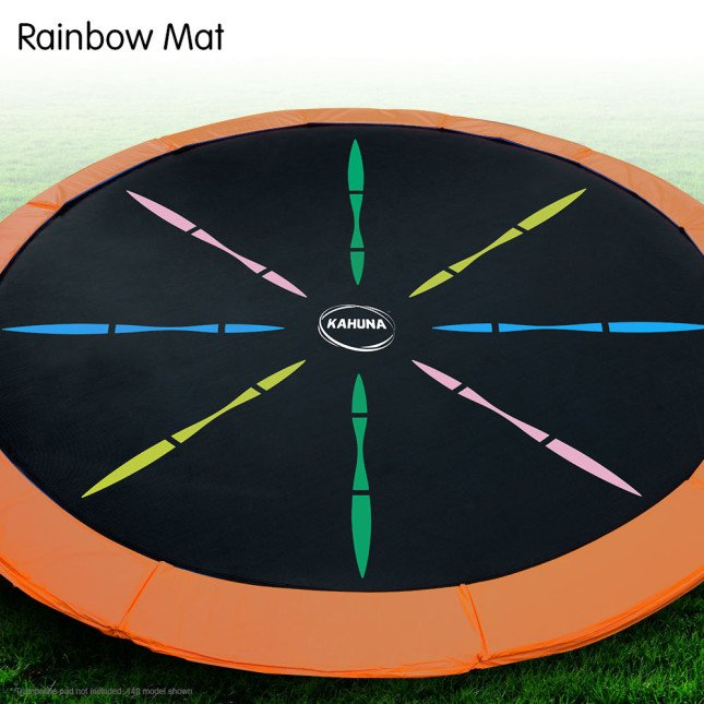 Kahuna Replacement Trampoline Mat — Rainbow for Classic, Rainbow, and Pro Models