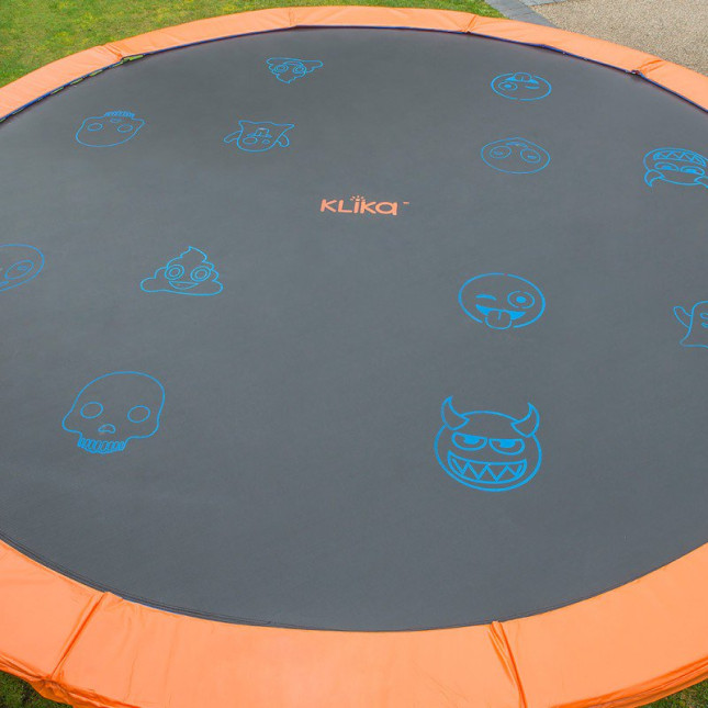 Replacement Trampoline Jumping Mat - Emoji