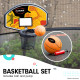 Kahuna Pro 14 ft Trampoline with Emoji Mat Reversible Pad Basketball Set Image 8 thumbnail