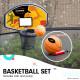 Kahuna Pro 8 ft Trampoline with Emoji Mat Reversible Pad Basketball Set Image 7 thumbnail