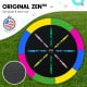 Kahuna 8 ft Trampoline with Rainbow Safety Pad Image 4 thumbnail