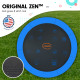 Kahuna Pro 8 ft Trampoline with Emoji Mat Reversible Pad Basketball Set Image 3 thumbnail
