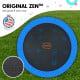Kahuna Pro 12 ft Trampoline with Emoji Mat Reversible Pad Basketball Set Image 3 thumbnail