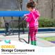 Kahuna Pro 14 ft Trampoline with Emoji Mat Reversible Pad Basketball Set Image 6 thumbnail