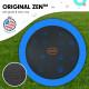 Kahuna Pro 16 ft Trampoline with Emoji Mat Reversible Pad Basketball Set Image 3 thumbnail