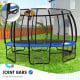 Kahuna Pro 16 ft Trampoline with Emoji Mat Reversible Pad Basketball Set Image 8 thumbnail